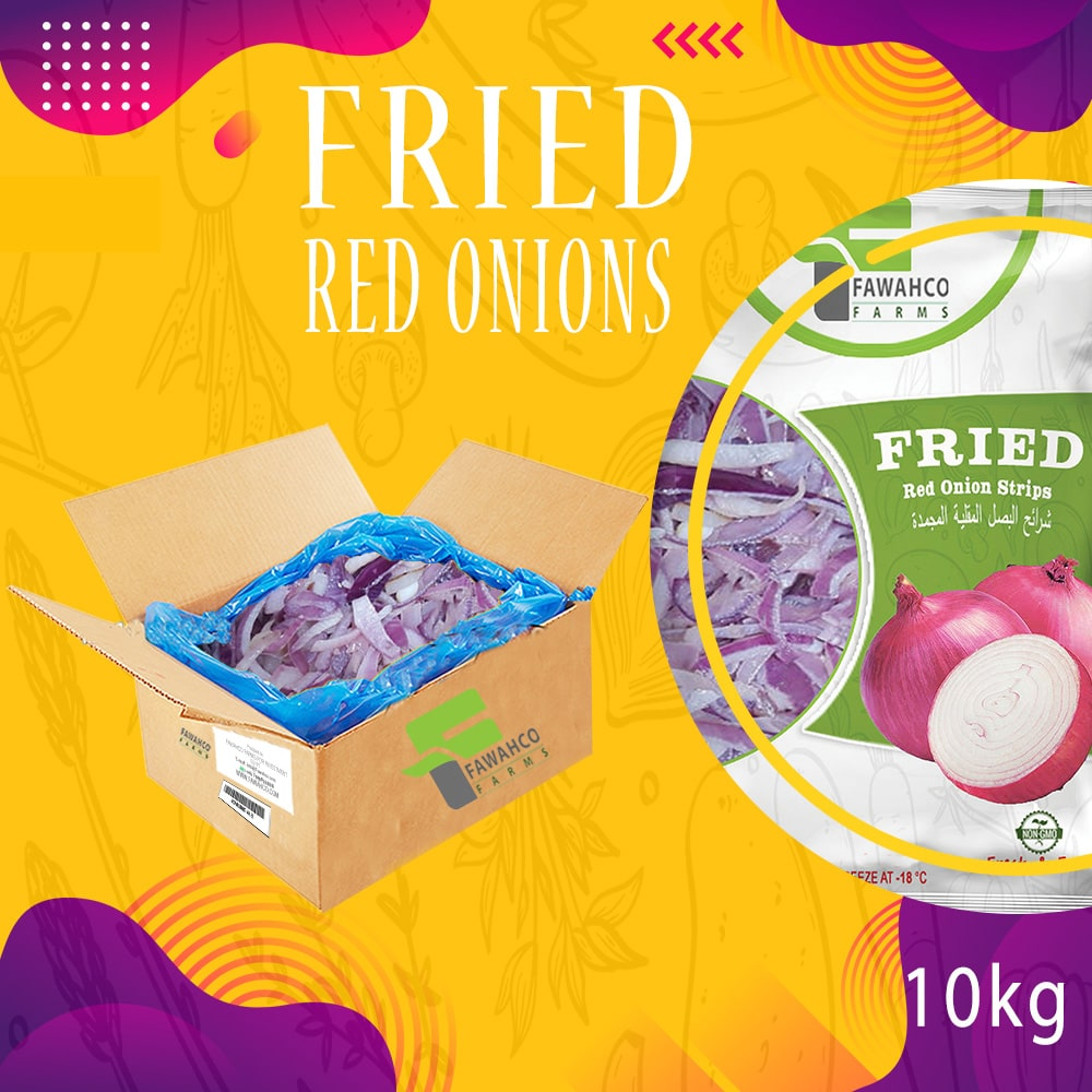 Fried Red Onion Strips